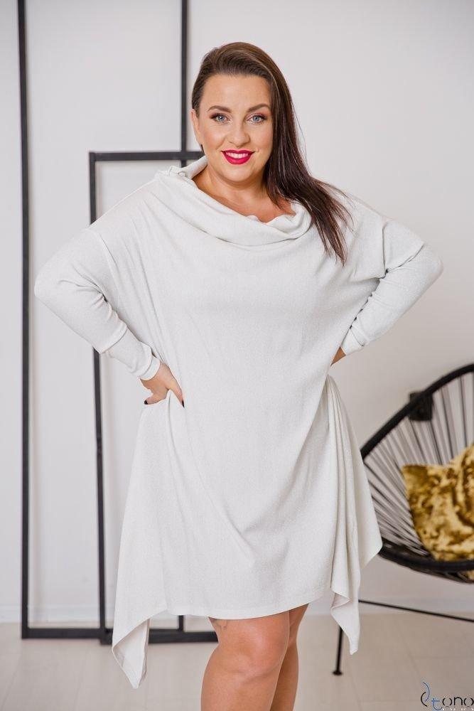 Beige Tunic SALAMA Plus Size