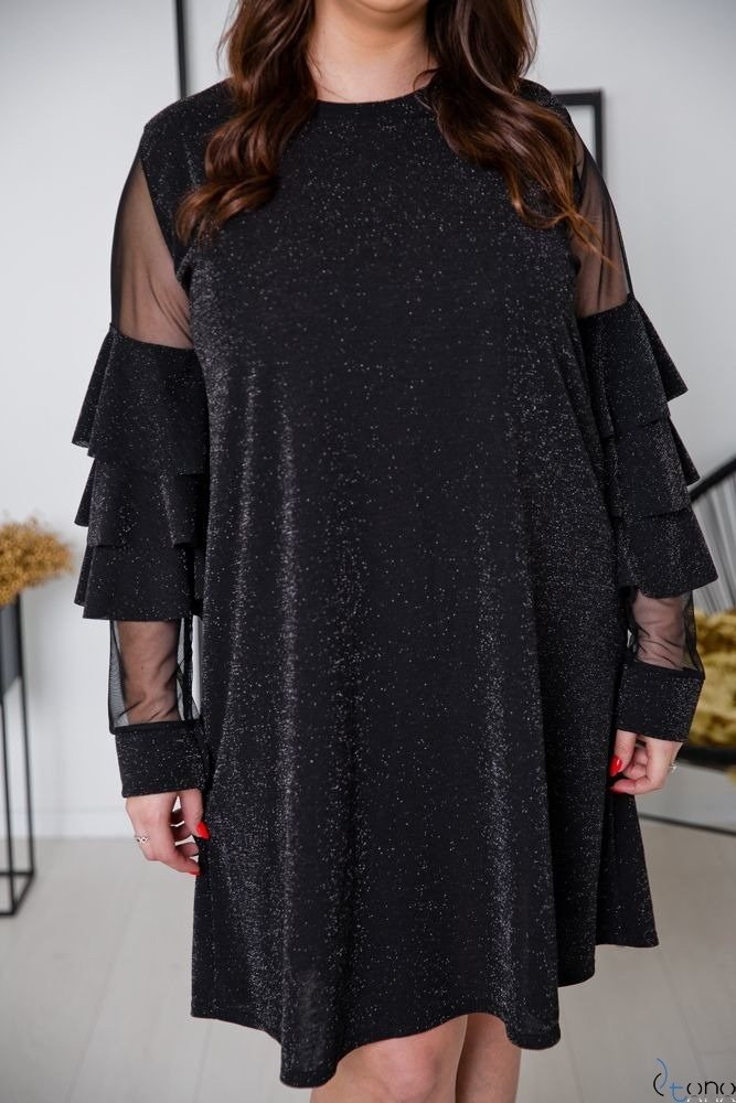 Black Dress CATIVA Plus Size