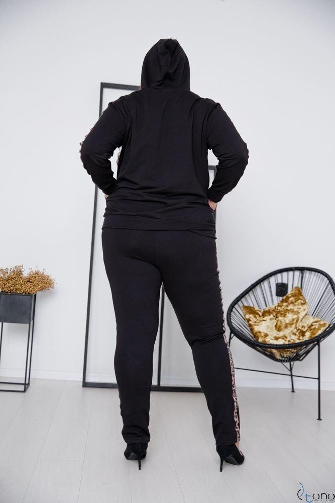 Black Sweatshirt COLECT Plus Size
