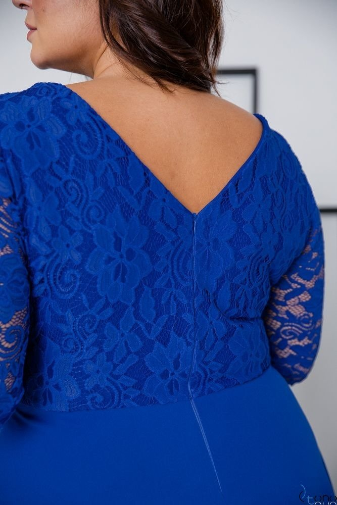 Cornflower Dress ELIZ Plus Size