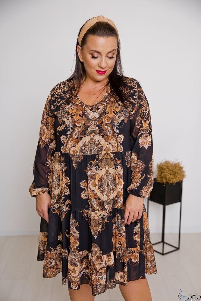 Dress MORENNA Plus Size Design 2