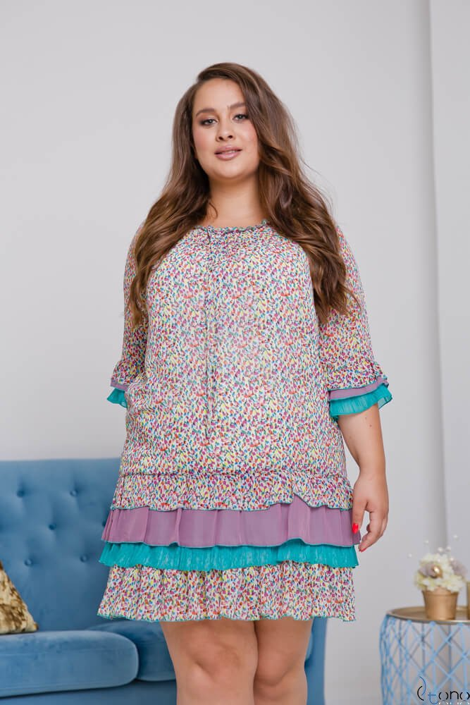 Dress SETTERA Plus Size Design 1
