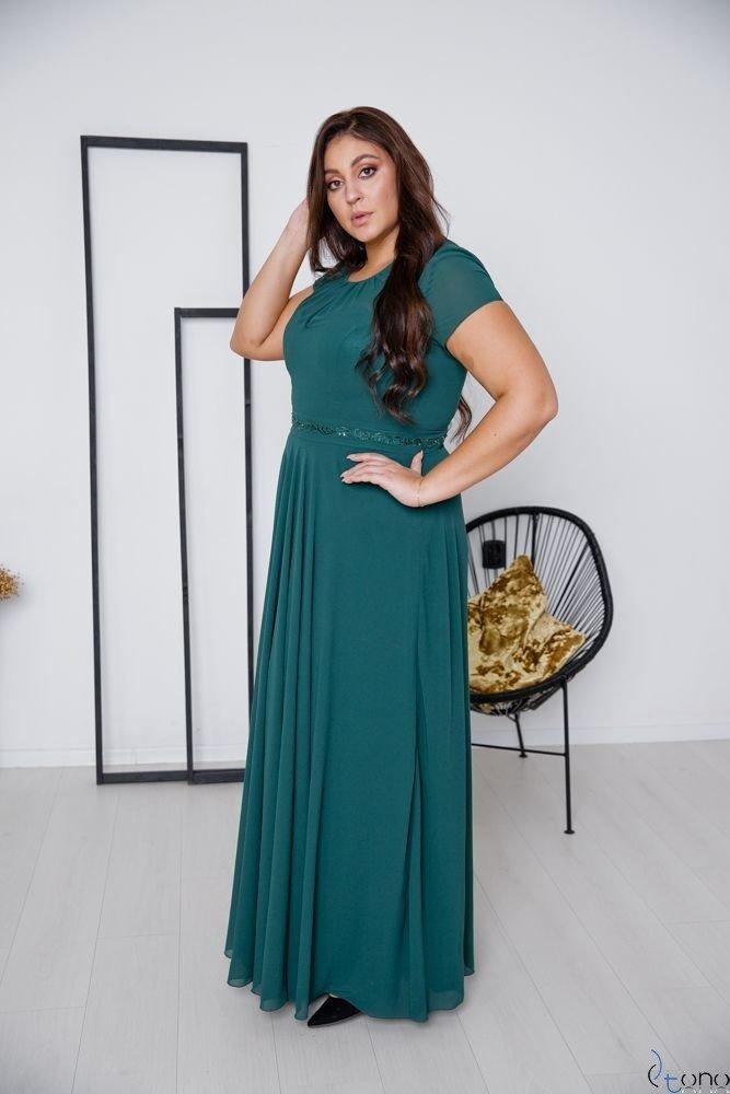 Green Dress FORTALES Plus Size