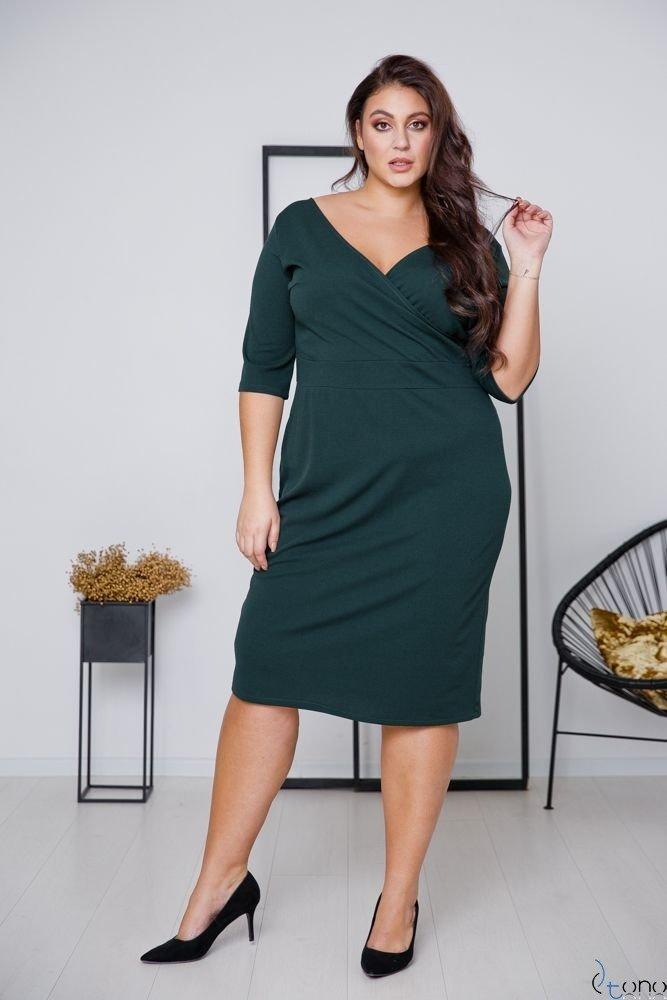 Green Dress GASPAR Plus Size