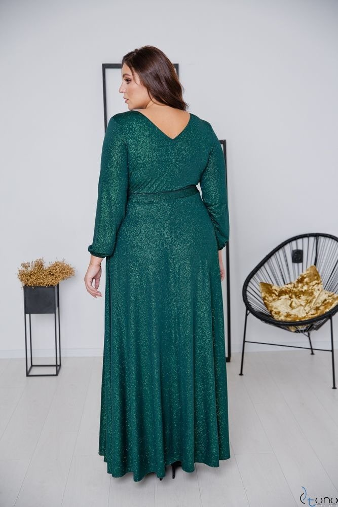 Green Dress SAVOY Plus Size