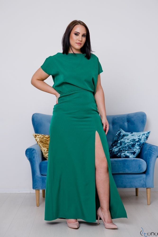 Green Occasion Dress PRIMMA Plus Size