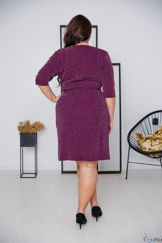 Purple Dress SOMIER Plus Size