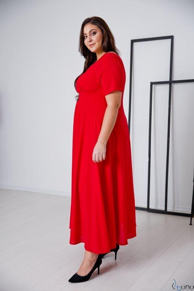 Red Dress MIRIAM Plus Size