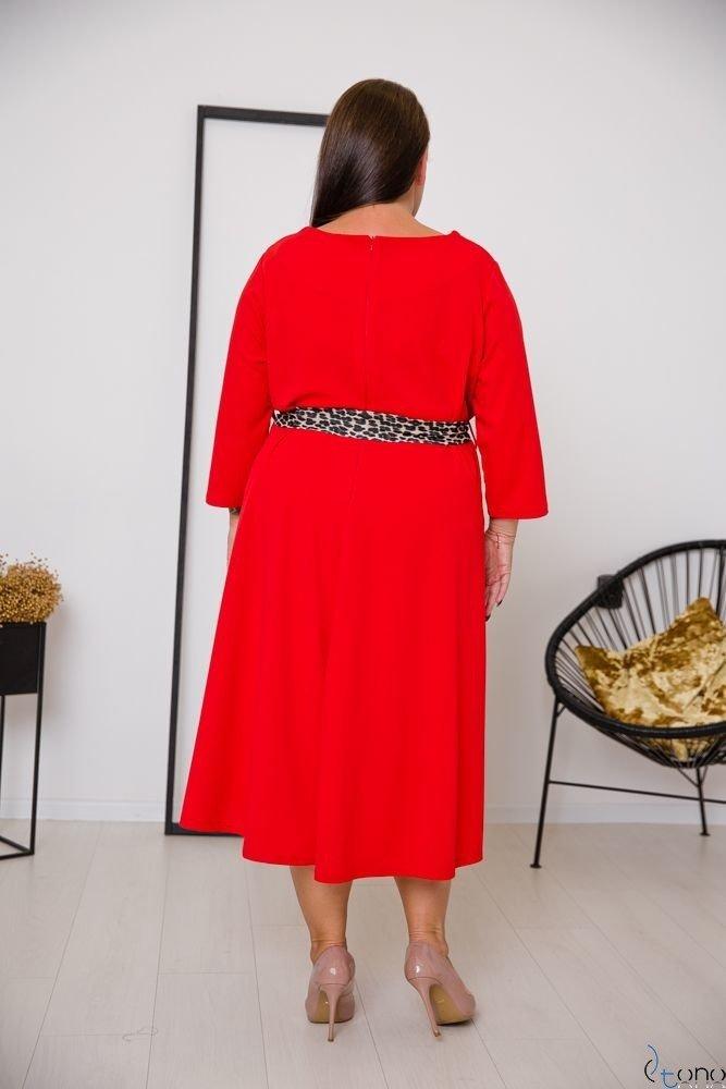 Red Dress SENTINELLA Plus Size