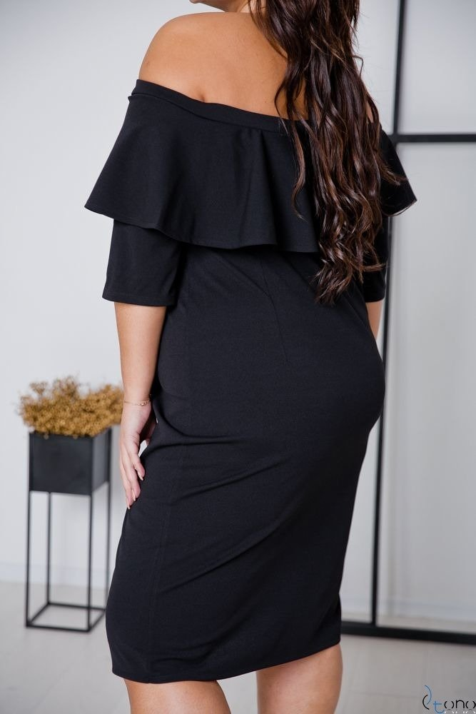 Black Dress ALBETTA Plus Size