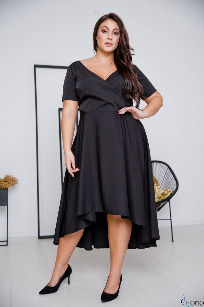 Black Dress CATENA Plus Size
