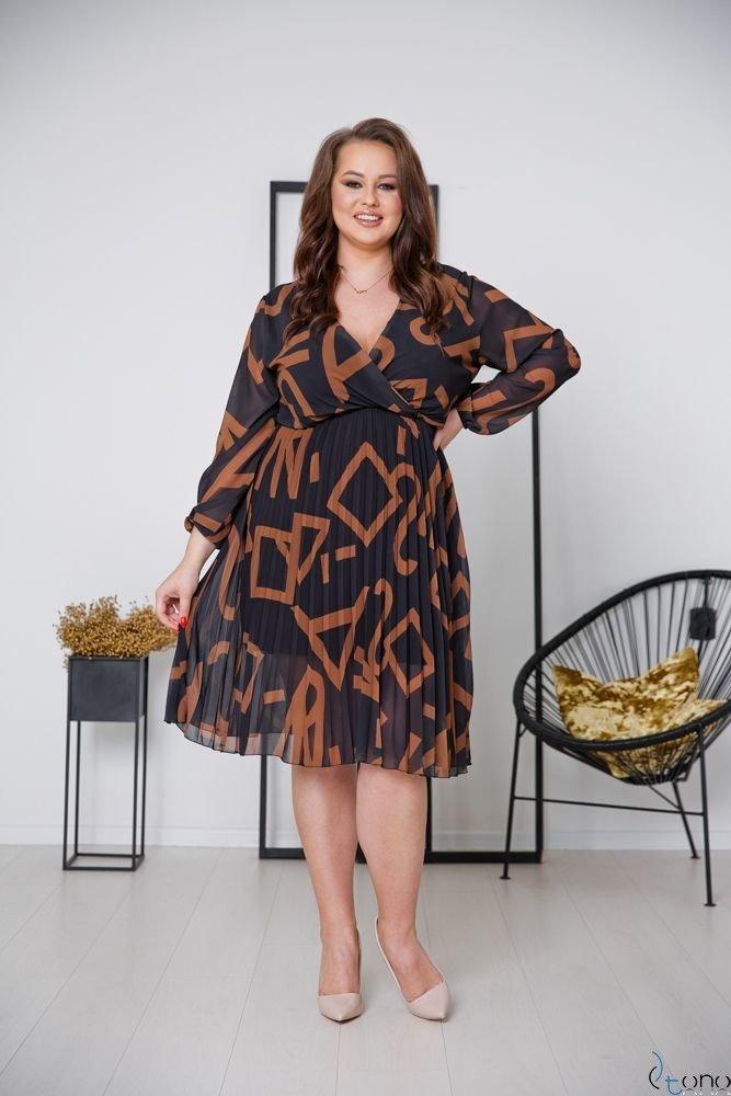 Dress PELLINA Plus Size Design 3