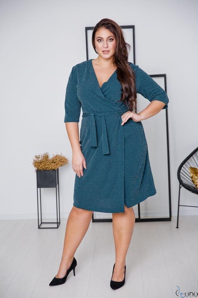 Green Dress SOMIER Plus Size