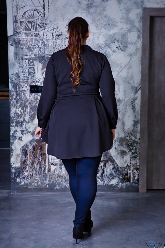 Czarna Koszula damska LANICA Plus Size czarny Ceny i