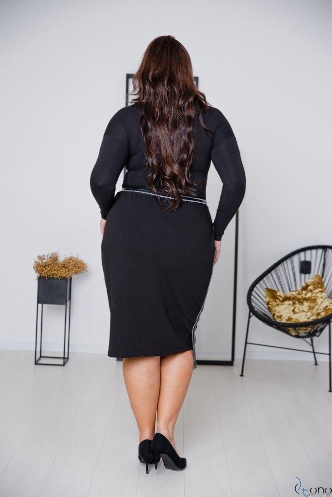 Czarna Spódnica LAURA Plus Size