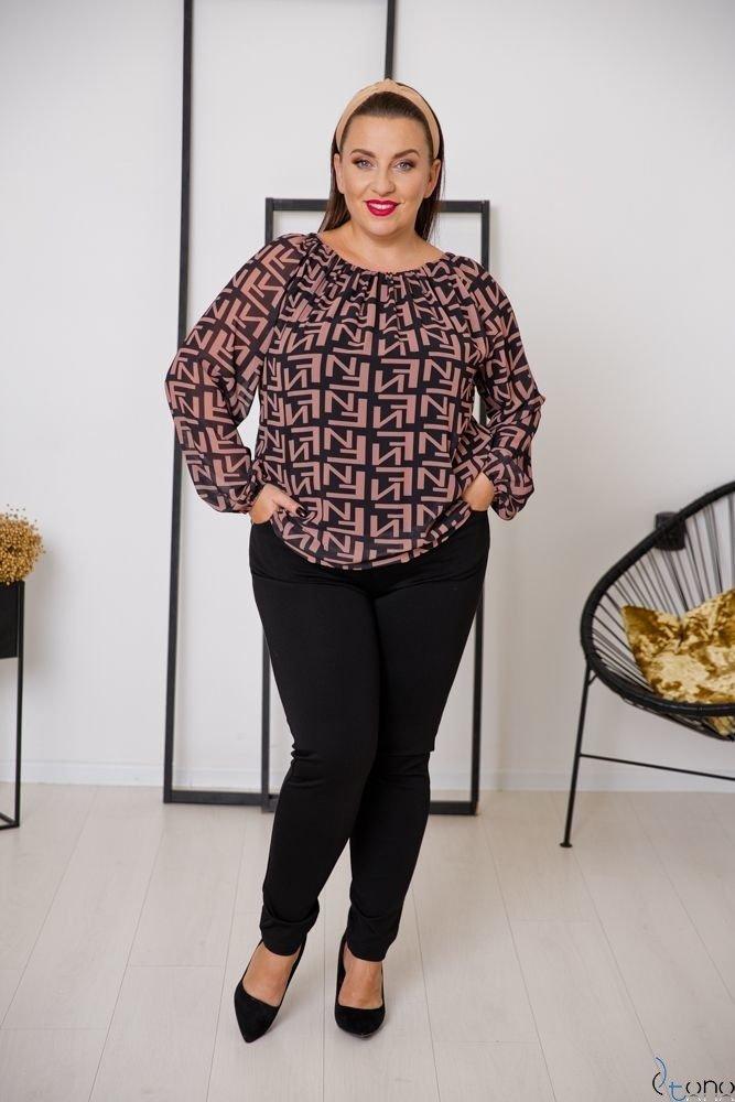 Bluzka GUARO Plus Size Wzór 1