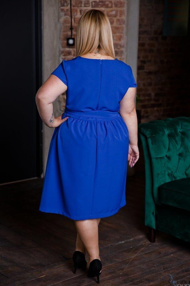 Chabrowa Sukienka MACARIS Plus Size