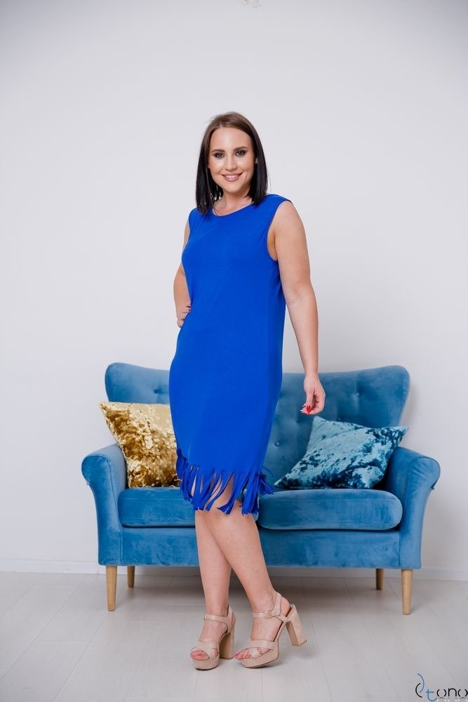 Chabrowa Sukienka NAPPA Plus Size