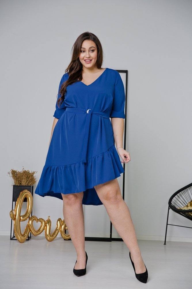 Chrabrowa Sukienka ELENA Plus Size
