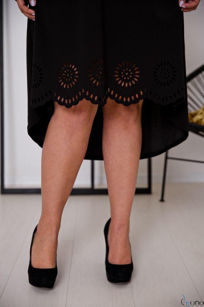 Czarna Sukienka FANTRINA Plus Size