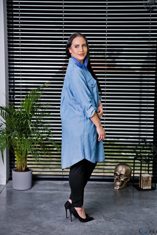 Koszula CASYA Plus Size Wzór 1