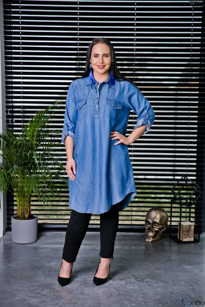 Koszula CASYA Plus Size Wzór 2
