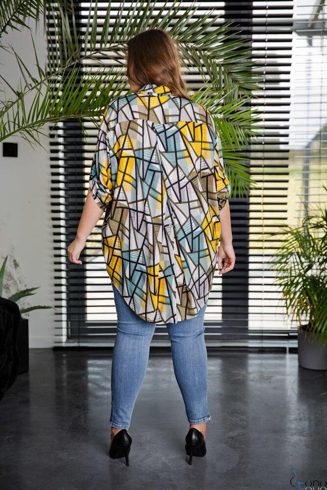 Koszula CREMMA Plus Size Wzór 4