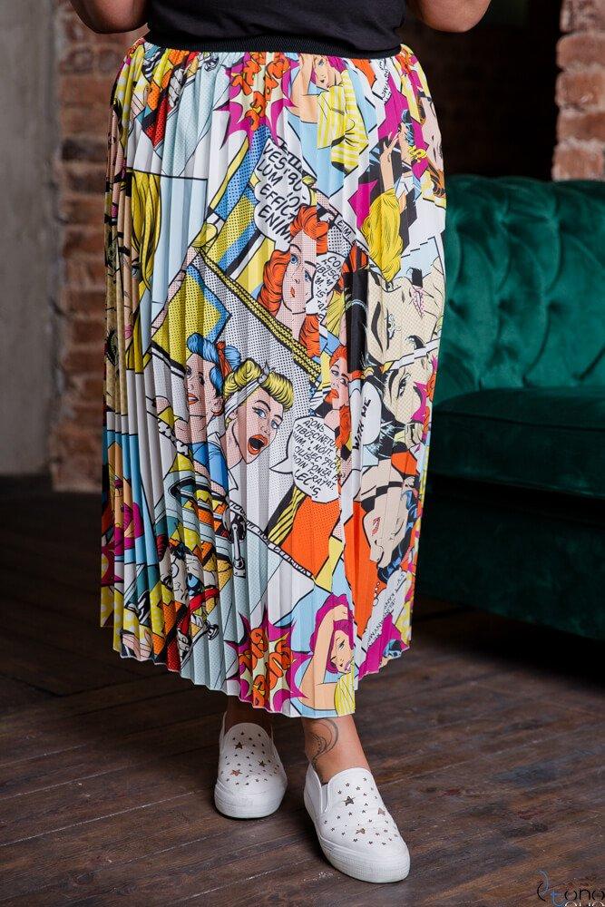 Spódnica TIZIANA Plus Size Wzór 3