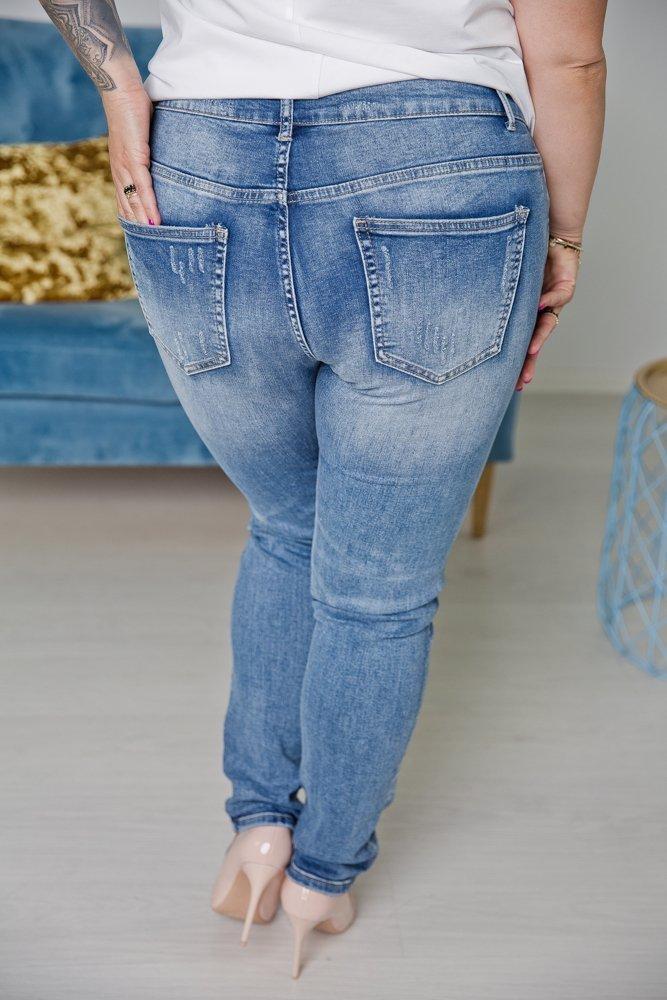 Spodnie Jeansowe ITANA Plus Size