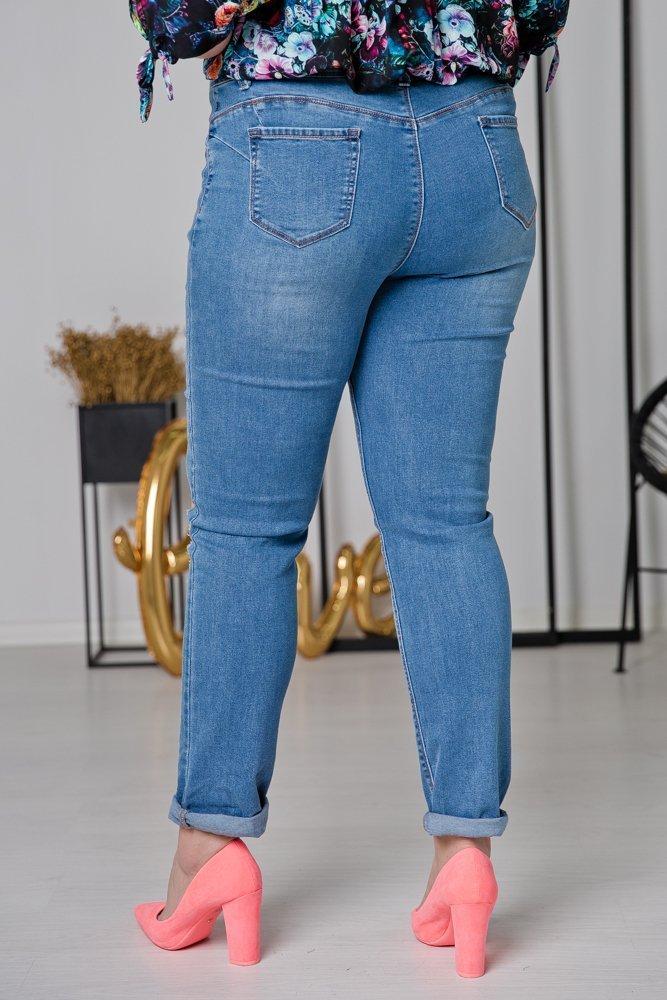 Spodnie Jeansowe STRENY Plus Size