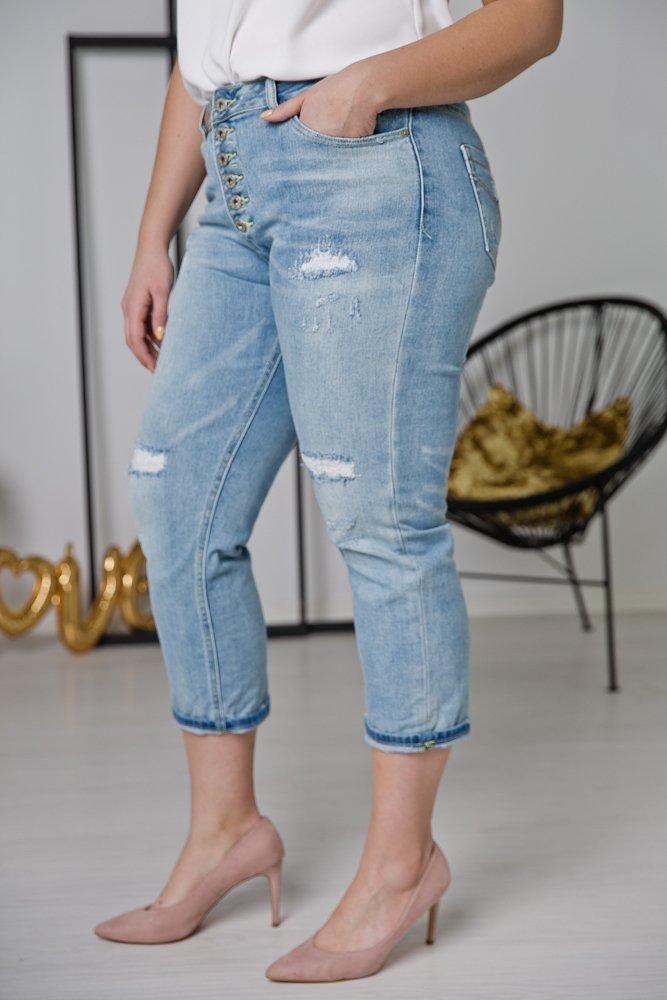 Spodnie Jeansowe TINA Plus Size