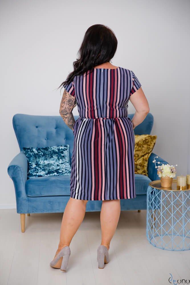 Sukienka AGOSTA Plus Szie Wzór 5
