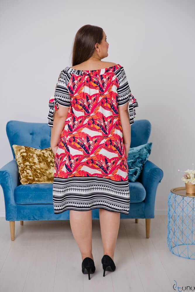 Sukienka BELTINA Plus Size Wzór 1