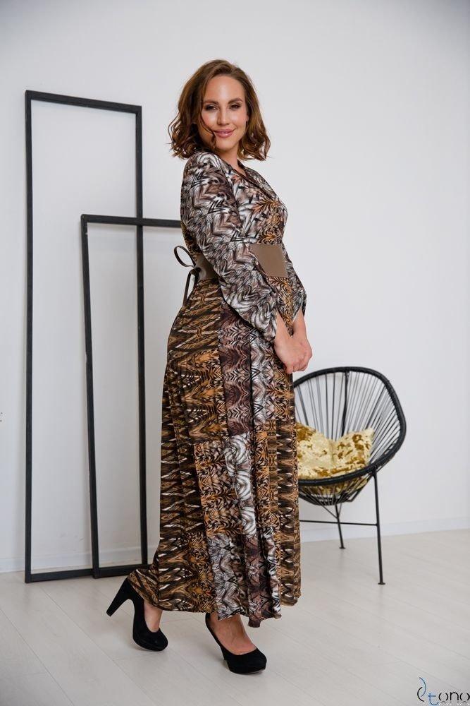 Sukienka BRETANY Plus Size Wzór 3