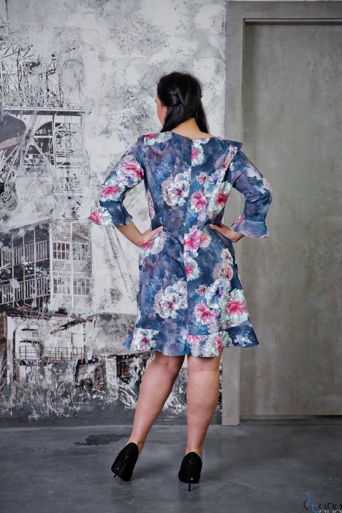 Sukienka CIROLA Plus Size Wzór 2