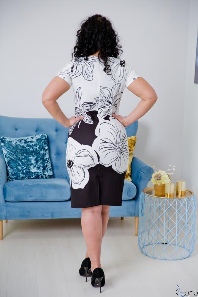 Sukienka CRISTINE Plus Size Wzór 2