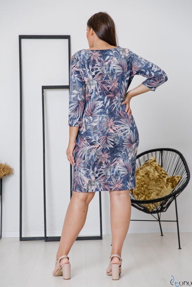 Sukienka DAFNY Plus Size Wzór 1