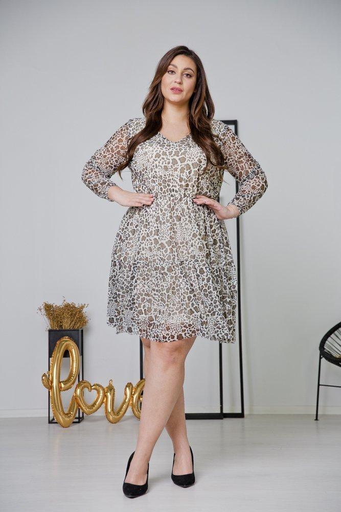 Sukienka ERIS Plus Size Wzór 3