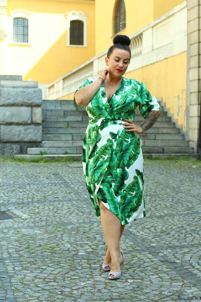 Sukienka FERRITA Plus Size Wzór 2