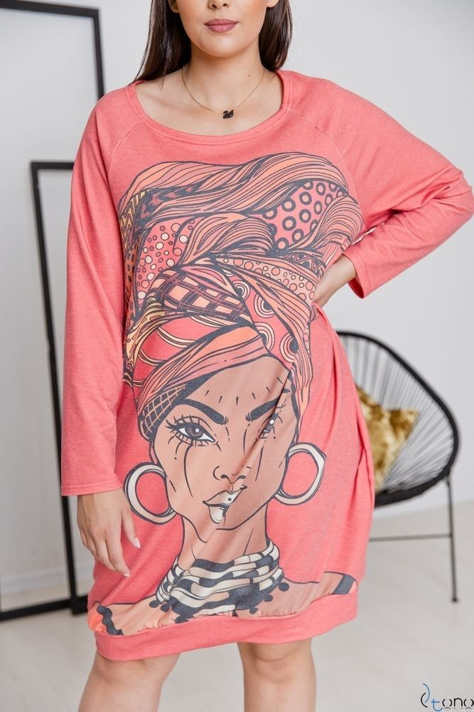 Sukienka HAVANA Plus Size Wzór 2