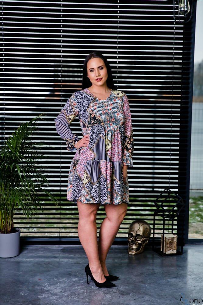Sukienka JACKY Plus Size wzór 3