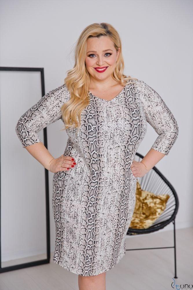 Sukienka KAMARIA Plus Size Wzór 9