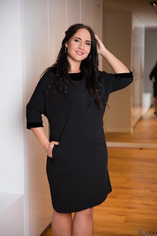 Sukienka MODENA Plus Size