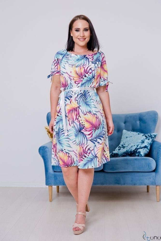 Sukienka PARAGAS Plus Size Hiszpanka Wzór 1