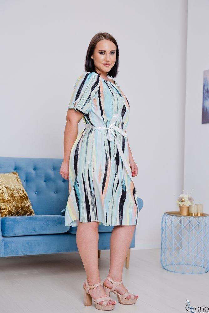 Sukienka PARAGAS Plus Size Hiszpanka Wzór 3
