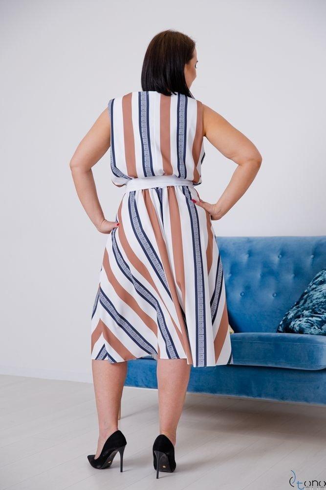Sukienka PASMIRA Plus Size Wzór 4