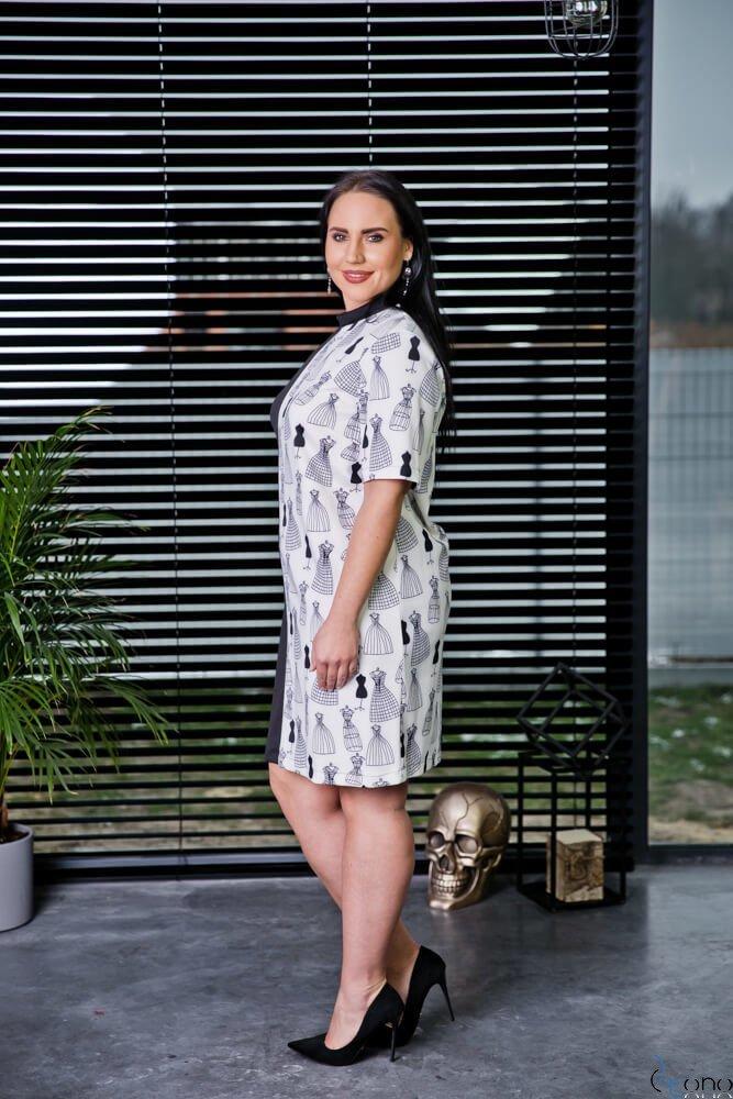 Sukienka RENE Plus Size