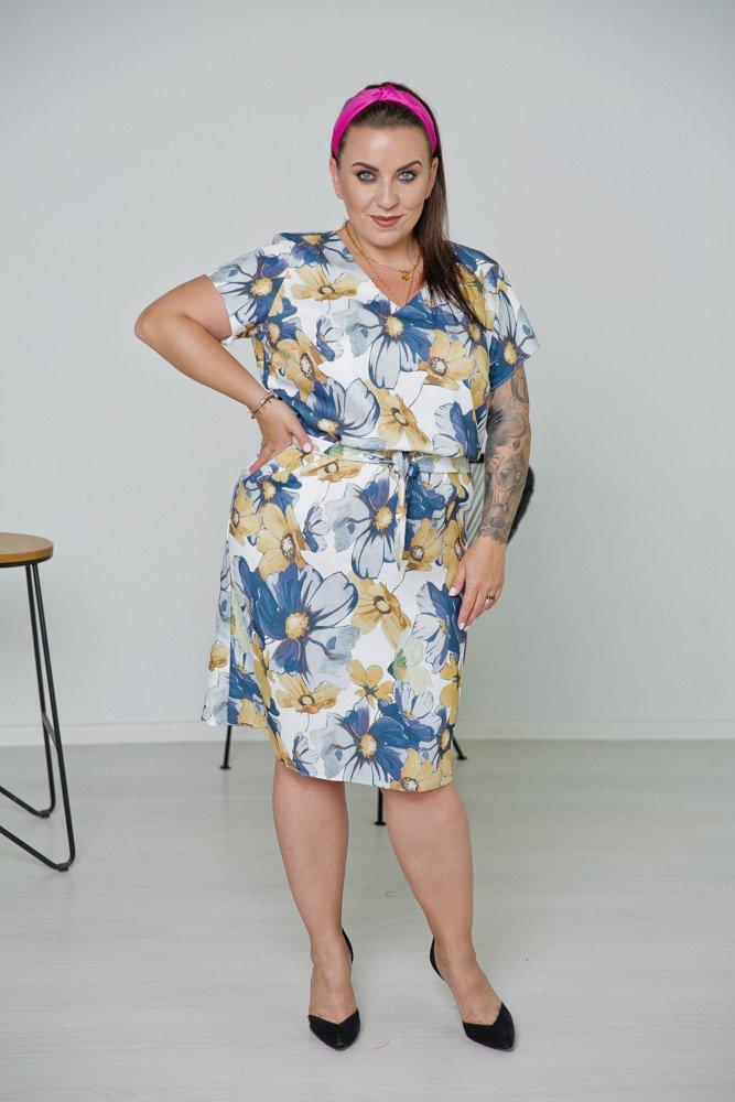 Sukienka RIO Plus Size Wzór 1