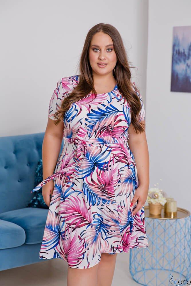Sukienka ROSITA Plus Size Wzór 14