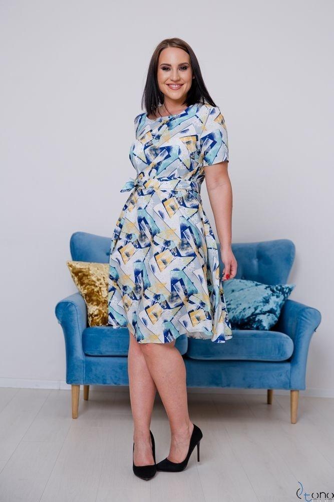 Sukienka ROSITA Plus Size Wzór 19